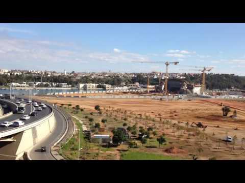 Overview of Rabat, Morocco