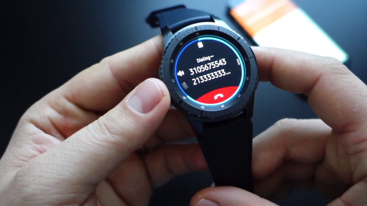 Gear S3 Frontier: Configuration, Settings, Widgets
