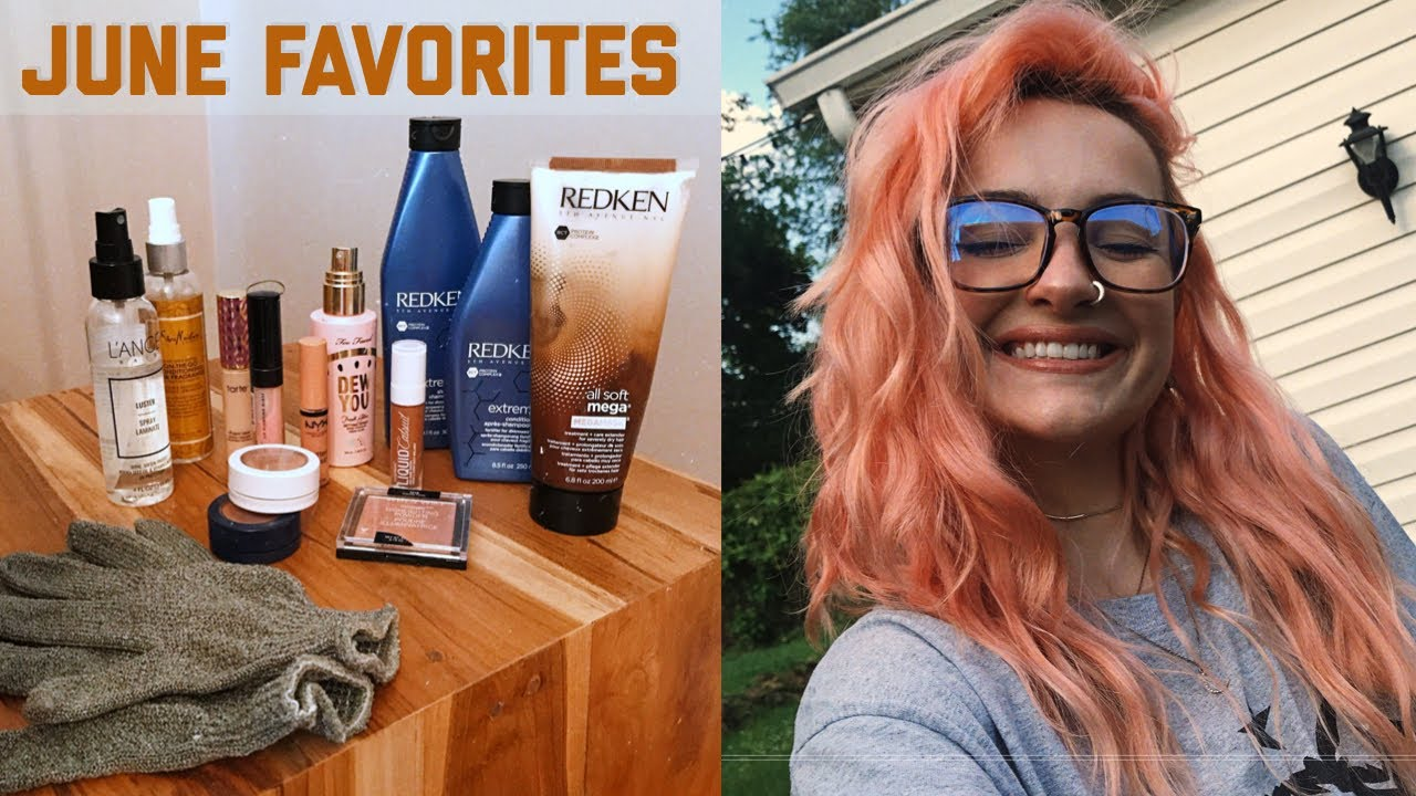 MY FAVORITE MAKEUP + WAVY HAIR PRODUCTS \ June favorites