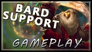 Bard Gameplay Support  - League of Legends