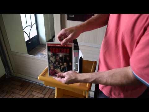Unboxing - Box Família Soprano - A Coleção Completa - 6 Temporadas DVD