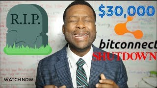 Bitconnect Shutdown - $30,000 Loans - Now What?