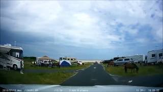 Frontier Town and Assateague State Park Camping - Dash Cam