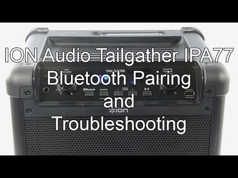 ION Audio Tailgater IPA77 - Frequently Asked Questions