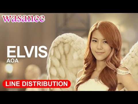 AOA - Elvis - Line Distribution (Color Coded MV)