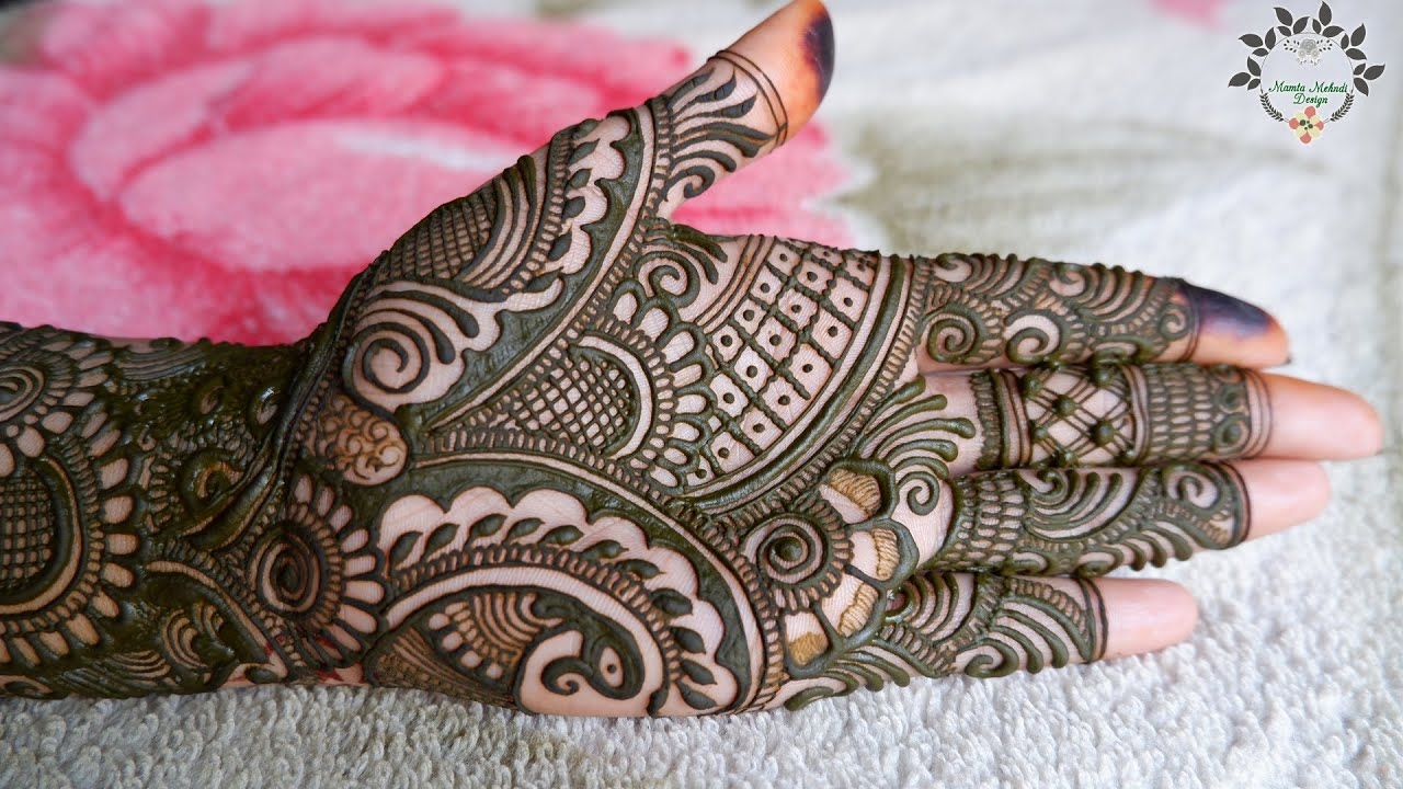 Beautiful Full Hand Peacock Mehndi Design | Full Hand Bridal Mehndi Designs | Easy Peacock Mehndi