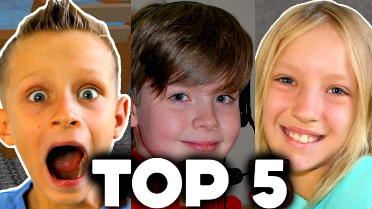 Top 5 Richest Kid Gamers On Youtube 2016 Ronaldomg -1957