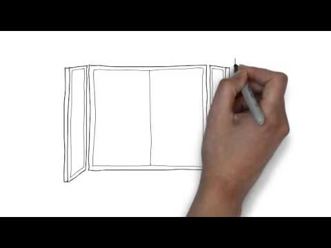 How To Draw Bus Stop Youtube