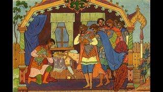 """А.С.Пушкин , """"Сказка о мёртвой Царевне и семи Богатырях."""""""