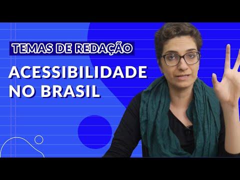 Temas para redação do ENEM - Acessibilidade no Brasil