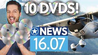 Microsoft Flight Simulator kommt auf 10 DVDs - News