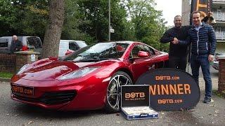 Winner! Week 41 2015 - McLaren 540C plus £10,000 cash! Win Your Dream Car!