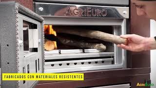 Hornos de leña AgriEuro combustion indirecta de exterior