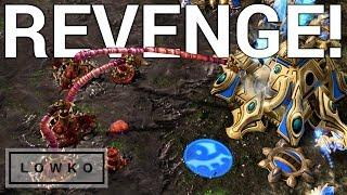 StarCraft 2: Photon Cannon vs Spine Crawler Rush!