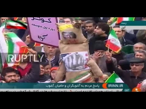 Iran: Thousands of pro-government protesters unite against ongoing rallies