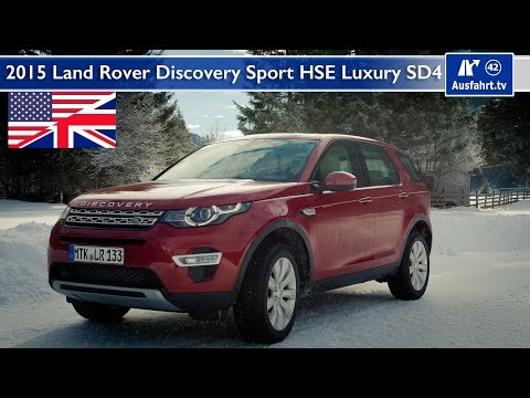 2015 Land Rover Discovery Sport HSE Luxury SD4 - Test, Test Drive and In-Depth Car Review (English)