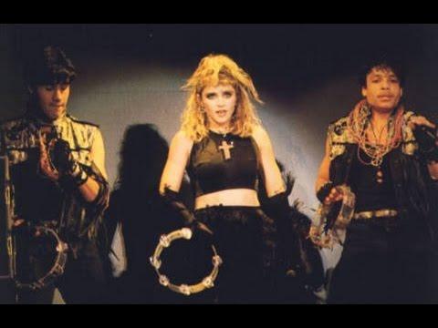 Madonna  Lucky Star The Virgin Tour 1985