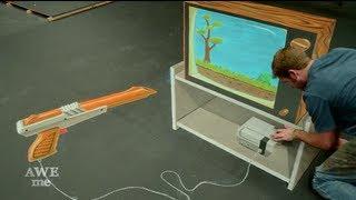 Repeat youtube video Duck Hunt 3D Chalk Art - AWE me Artist Series