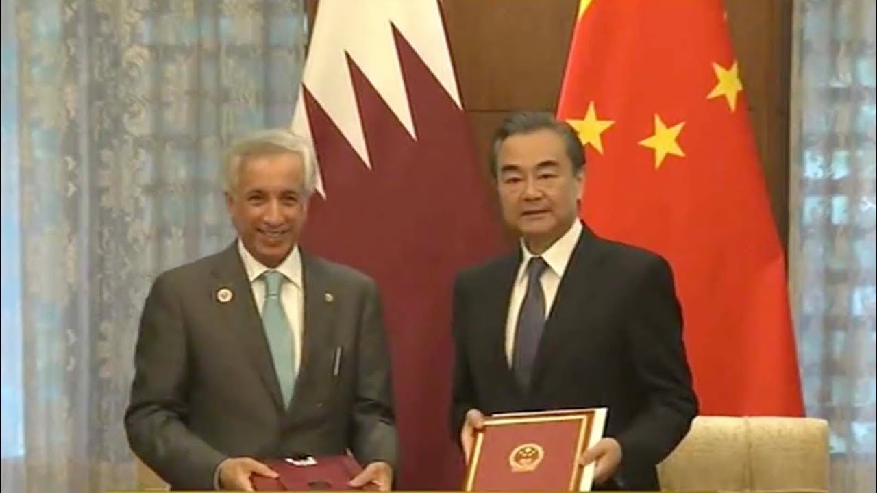 China And Qatar Sign Mutual Visa Exemption Agreement Youtube