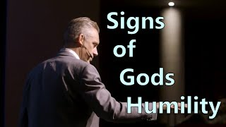Signs of God Humility - Jordan Peterson
