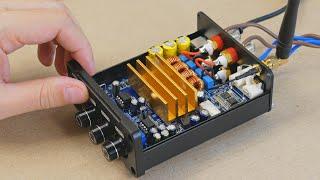 Что может усилитель на TPA3221 от A Y MA мощностью 100Вт с Bluetooth