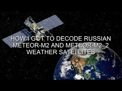 How To Receive/decode Meteor M-N2 Images In Real Time
