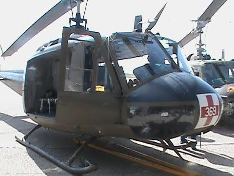 American Huey 369 - Gathering of Veterans & Patriots - Grissom Aeroplex - Peru, Indiana