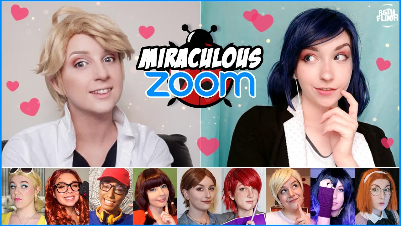 Download Miraculous Ladybug and Chat Noir Cosplay Video - The Zoom Class