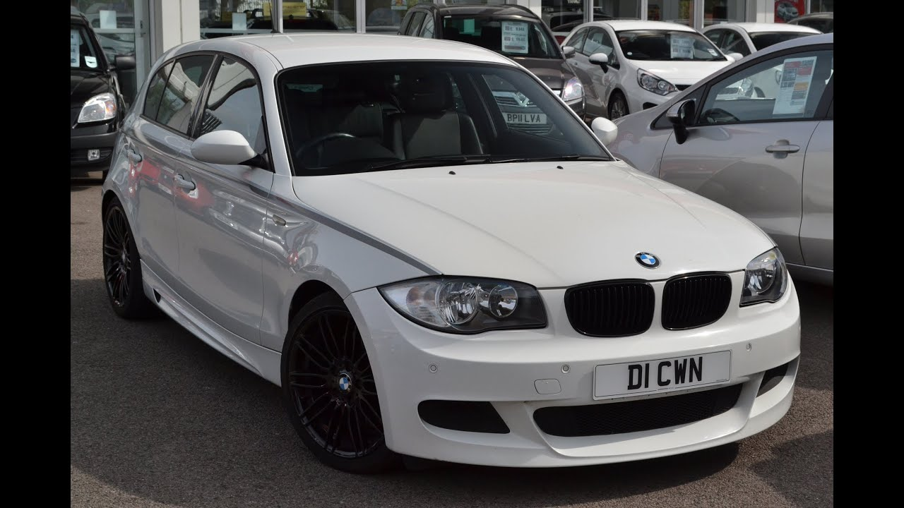 used car bmw 1 series 123 m sport white ao08kub. Black Bedroom Furniture Sets. Home Design Ideas