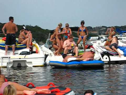 Possum Kingdom Lake, Labor Day Weekend Party at Hells Gate