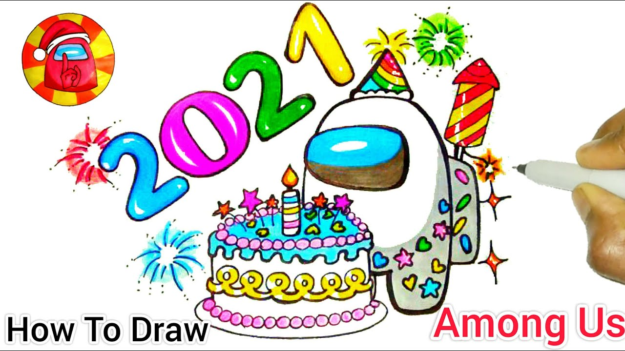 How To Draw A Among Us Happy New Year 2021 New Year 2021 Youtube Without them, we wouldn't exist. how to draw a among us happy new year 2021 new year 2021