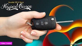 Hyundai Flip Key (Keypad Change)