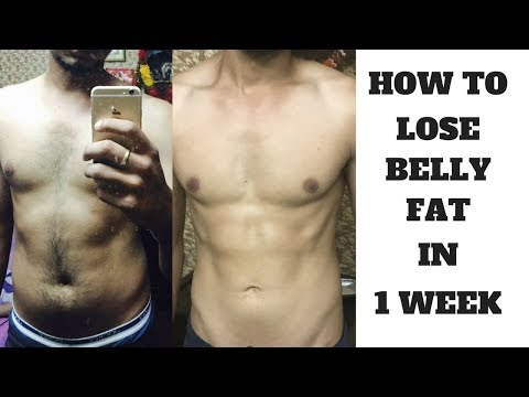 How To Lose Belly Fat In 1 Week | Fit Wit Atwal