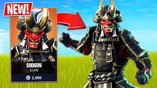 "NEW ""SHOGUN SKIN"" IN Fortnite!! - Playing With Subscribers! (Fortnite LIVE Gameplay)"