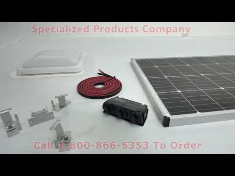 Zamp Solar Roof Mount Solar Kit Installation Youtube