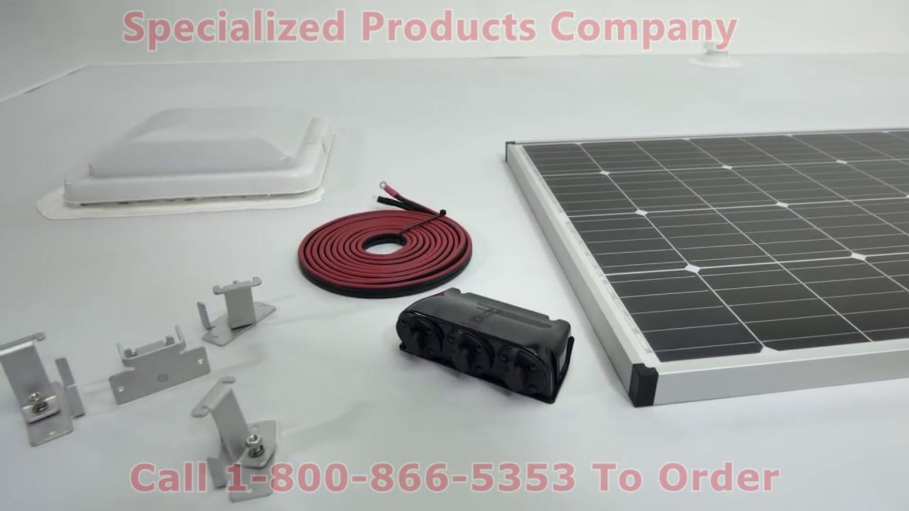 Zamp Solar Roof Mount Solar Kit Installation