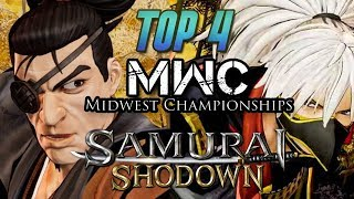 Samurai Shodown - TOP 4 @ MIDWEST CHAMPIONSHIPS 2019 [1080p/60fps]