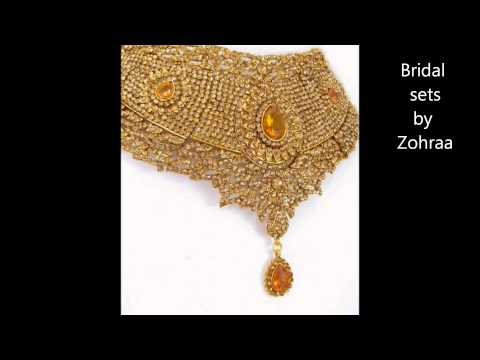 Bridal necklaces online from Zohraa - Best Jewellery online shop