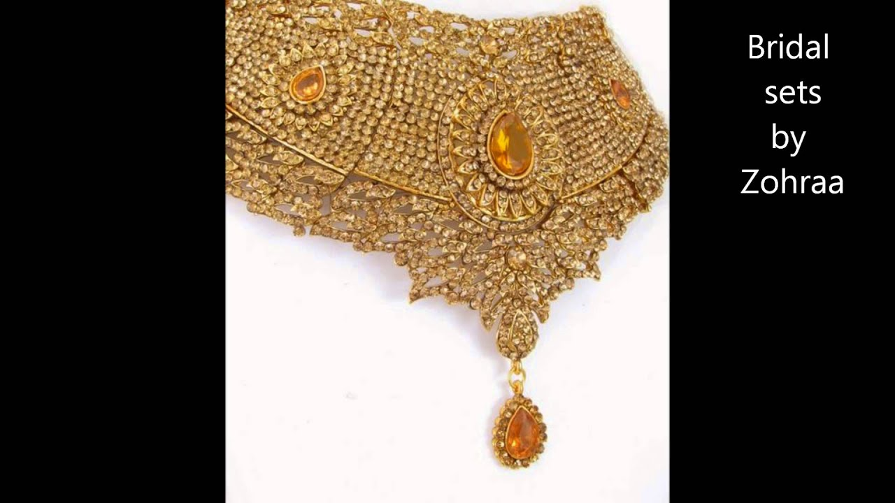 Bridal necklaces online from Zohraa Best Jewellery online shop