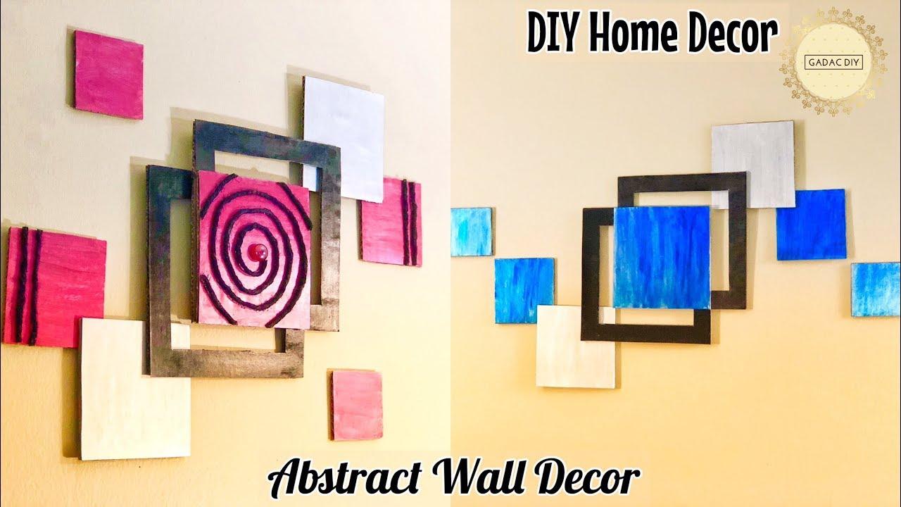 Unique Diy Wall Decor: DIY Unique Wall Hanging