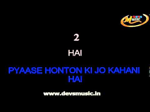 Jaane Do Naa Karaoke Saagar Film www.devsmusic.in Devs Music Academy