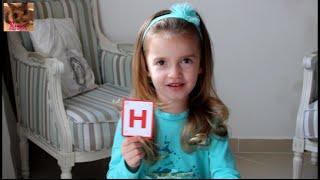 "Impariamo  l'alfabeto Italiano. Lettera ""H"".  Изучаем итальянский алфавит. Буква ""H""."