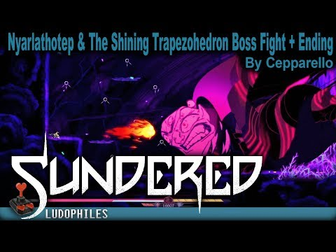 Sundered - Nyarlathotep & The Shining Trapezphedron Final Boss Fight & Resist Ending