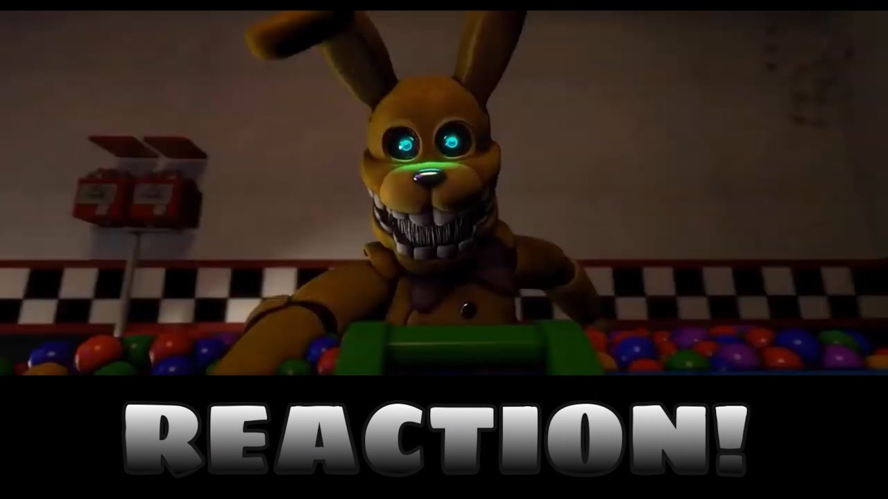 FNAF - INTO THE PIT SONG BY DAWKO & DHeusta REACTION!! | AMAZING FNAF SONG!!! | Premiere Reaction