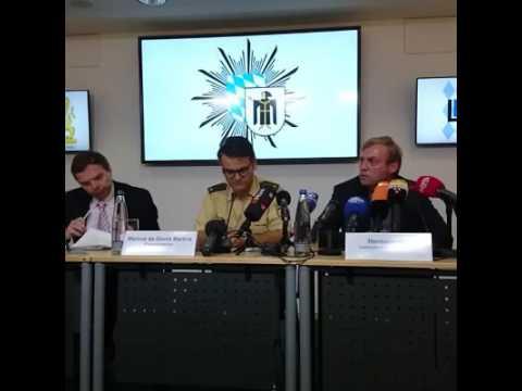 Amoklauf OEZ München | Afghane festgenommen | 3. Pressekonferenz Polizei München | 25/07/2016