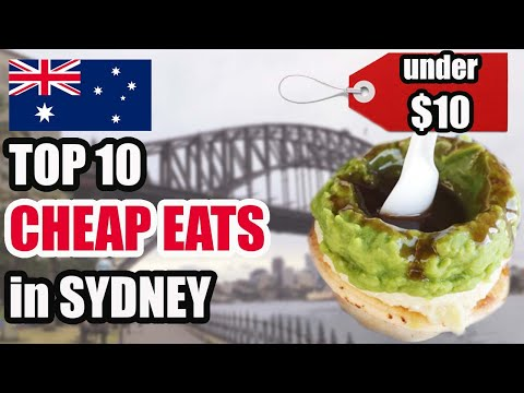 TOP 10 CHEAP EATS UNDER $10 In SYDNEY | Sydney MUST TRY Food Guide 2019
