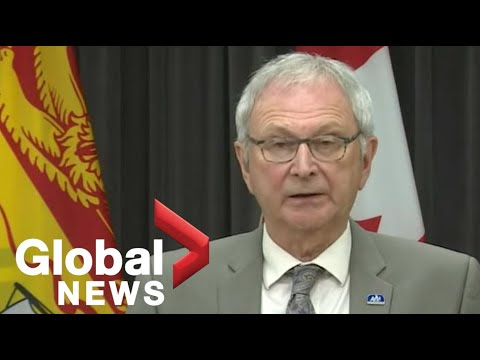 Coronavirus outbreak: New Brunswick reintroduces certain restrictions in 'Zone 5' | FULL