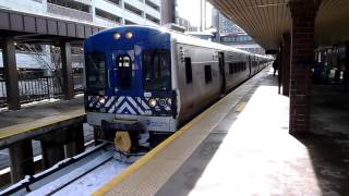 MTA Metro-North Railroad Bombardier M7A #4117 Harlem Line departing White Plains