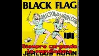 Black Flag - No values (Subtitulado - Lyrics)