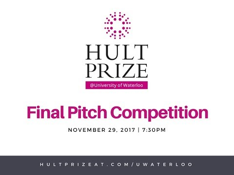 Hult Prize @ UWaterloo Finals 2018